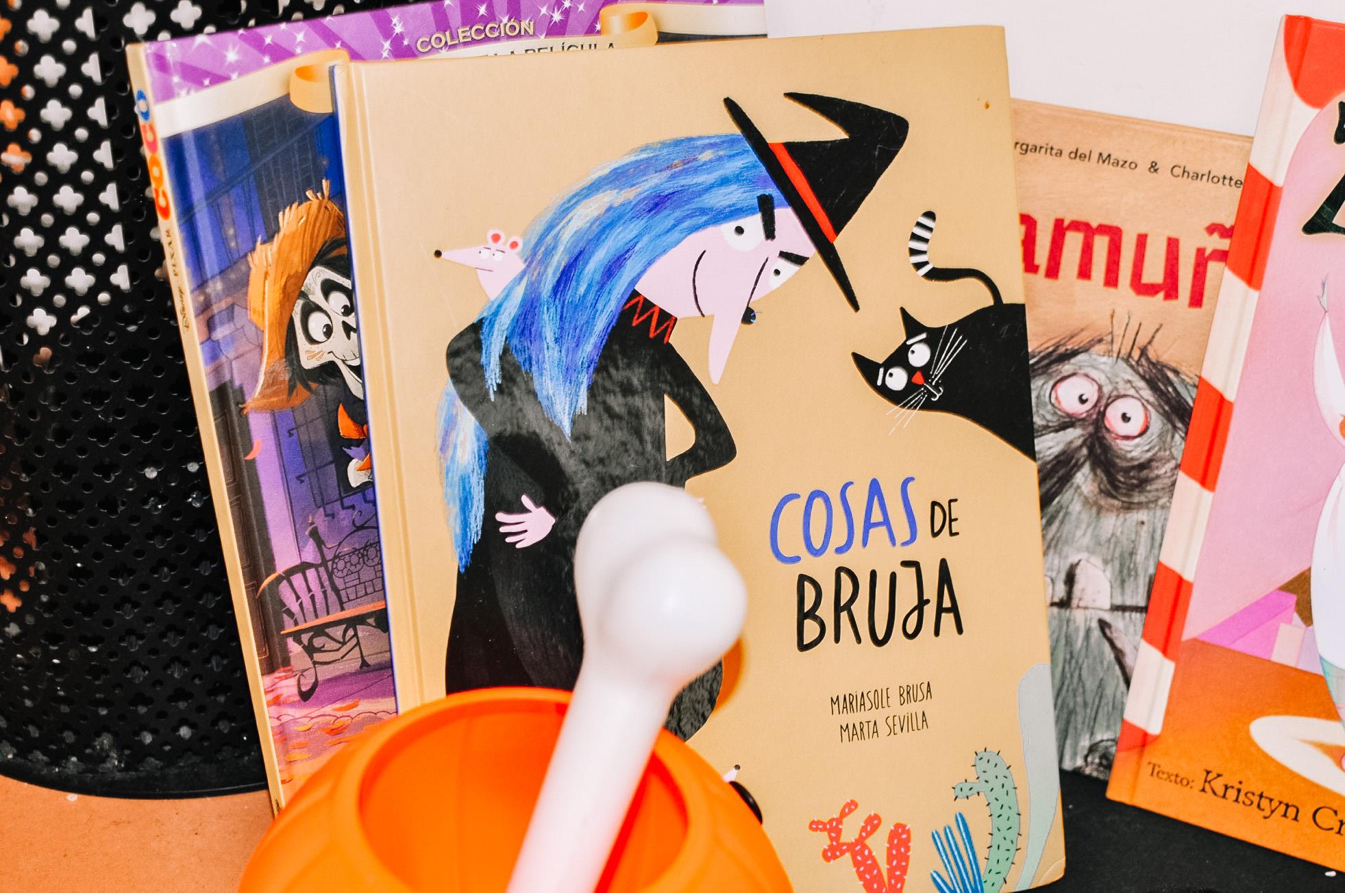 Colección de cuentos infantiles para Halloween